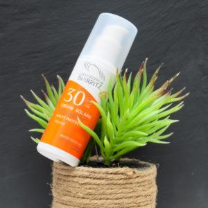 Crème solaire visage Indice 30 Laboratoires de Biarritz