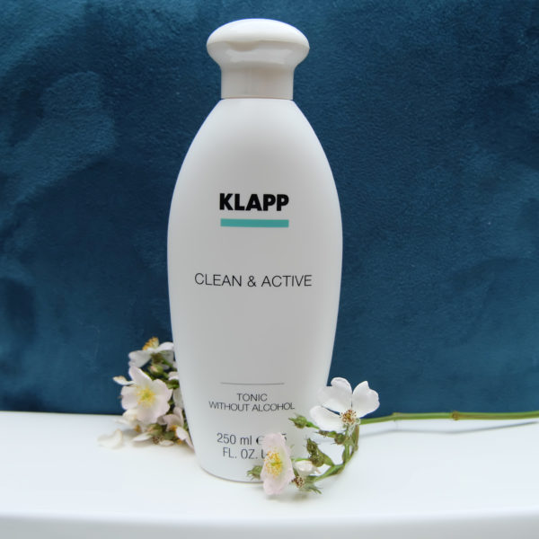 Klapp Clean & Active Tonic Without Alcool