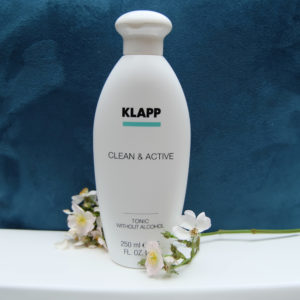 Klapp Clean & Active Tonic Without Alcool