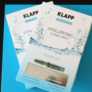 klapp hyaluronic multiple effect power set